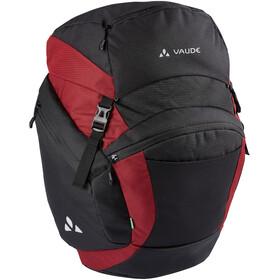 VAUDE OnTour Back Bag, zwart/rood